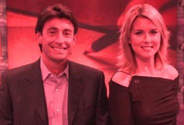 Milo Infante e Monica Leofreddi
