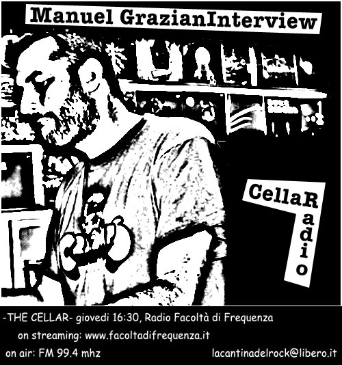 Flyer intervista Manuel Graziani