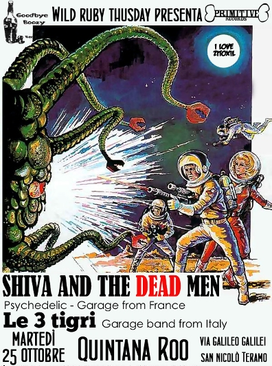 Flyer_Shiva and the Dead Men