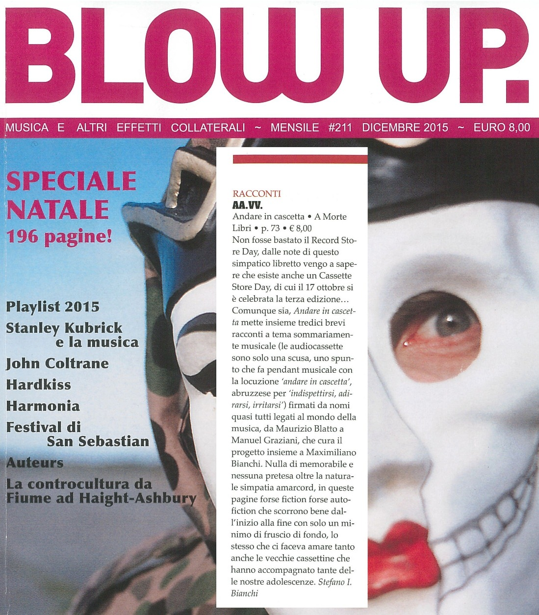 Blow Up dicembre 2015
