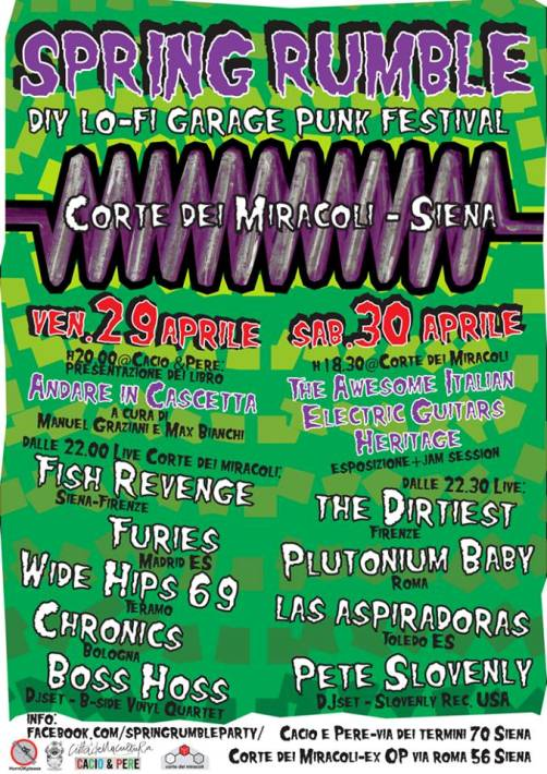 Spring Rumble Festival - Siena