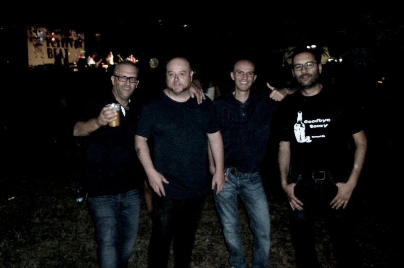 Il Sindaco, Max Garage, Davide, io - Festiva Beat 2015